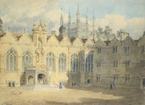 A View of the Chapel and Hall of Oriel College 1798-9 Joseph Mallord William Turner 1775-1851 The Ashmolean Museum, Oxford http://www.tate.org.uk/art/work/TW0693