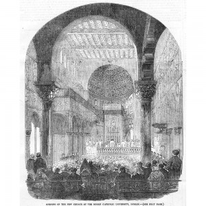 opening of Univ Church, Illustrated London News